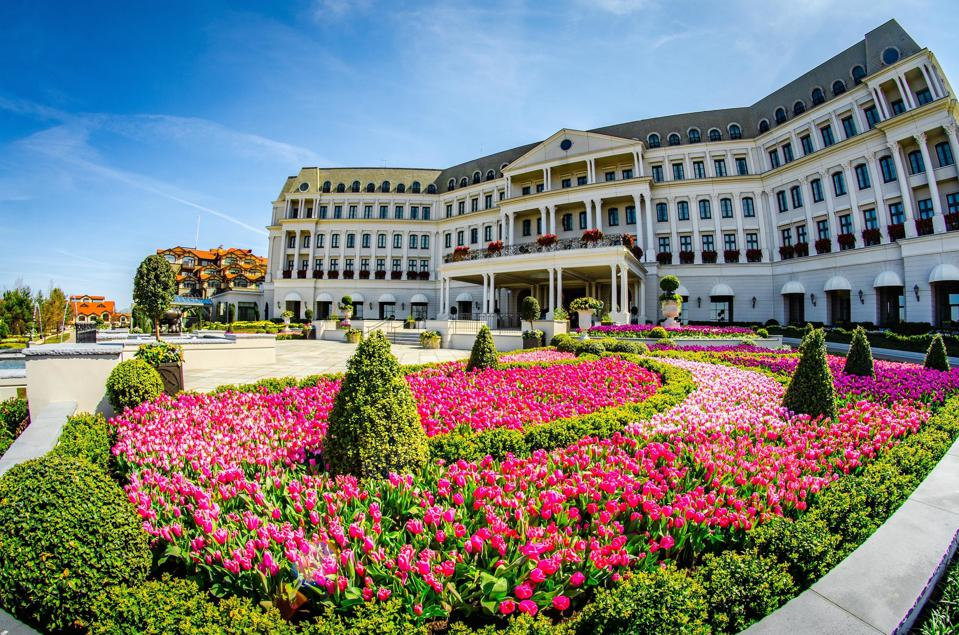 Chateau Lafayette at the Nemacolin Woodlands Resort.