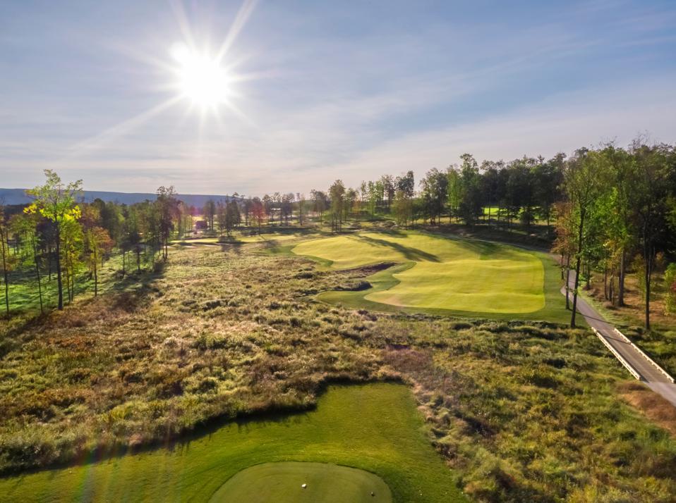 Shepherd's Rock golf course at Nemacolin Woodlands Resort.