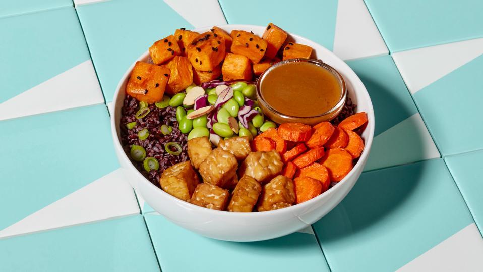 Mosaic Foods' miso tempeh bowl