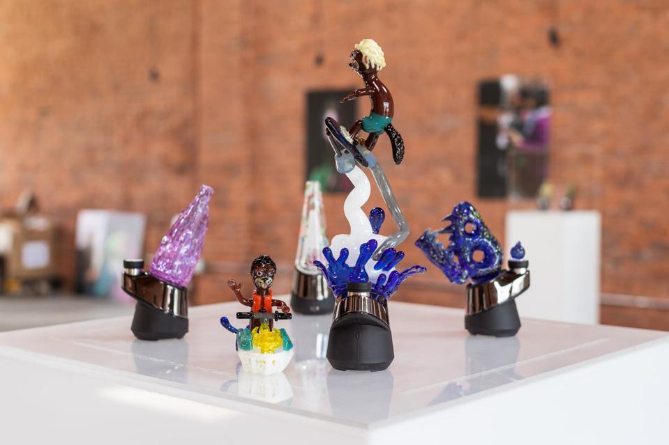 Puffco Art Show Glass, art by Preston Hanna.