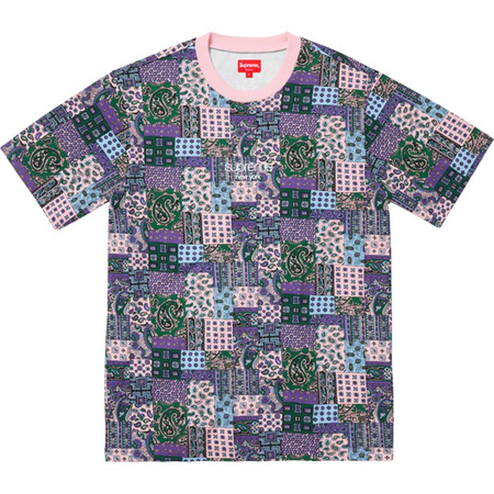 Supreme Patchwork Paisley Top