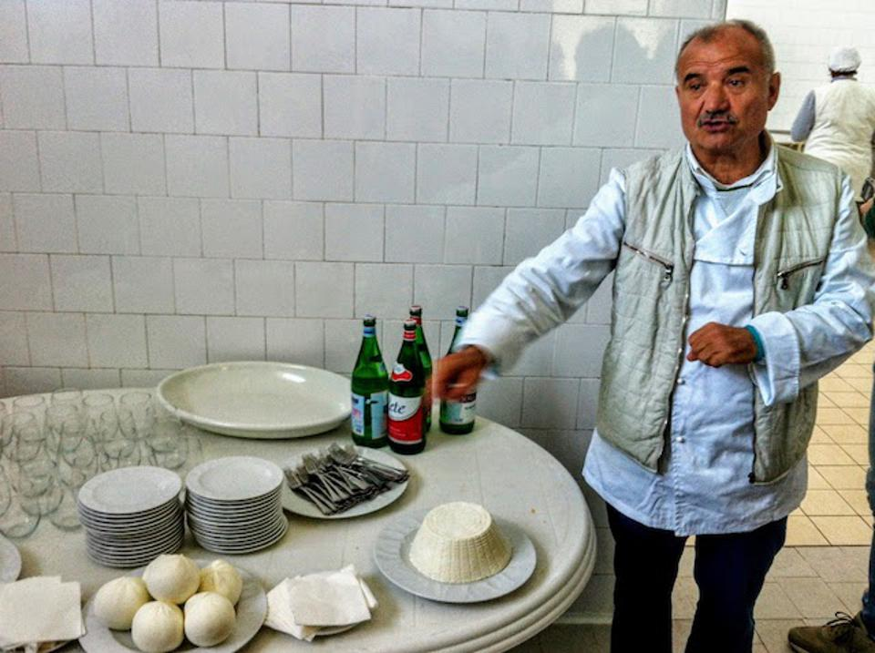Cook/Farmer Peppe Zullo in the town of Orsara di Puglia