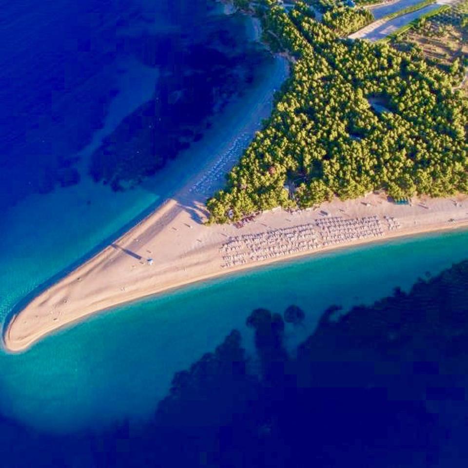 Pink sand beaches await