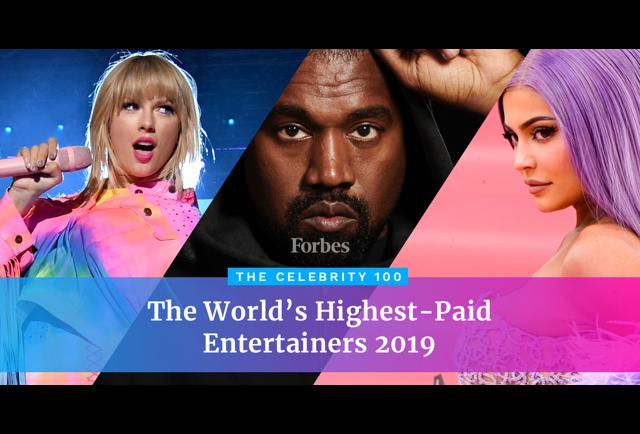 The World's Highest-Paid Celebrities