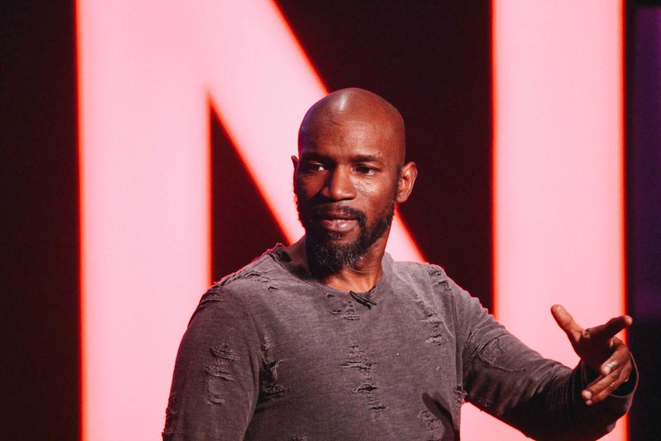 Ian Edwards performs in his new Comedy Central special.