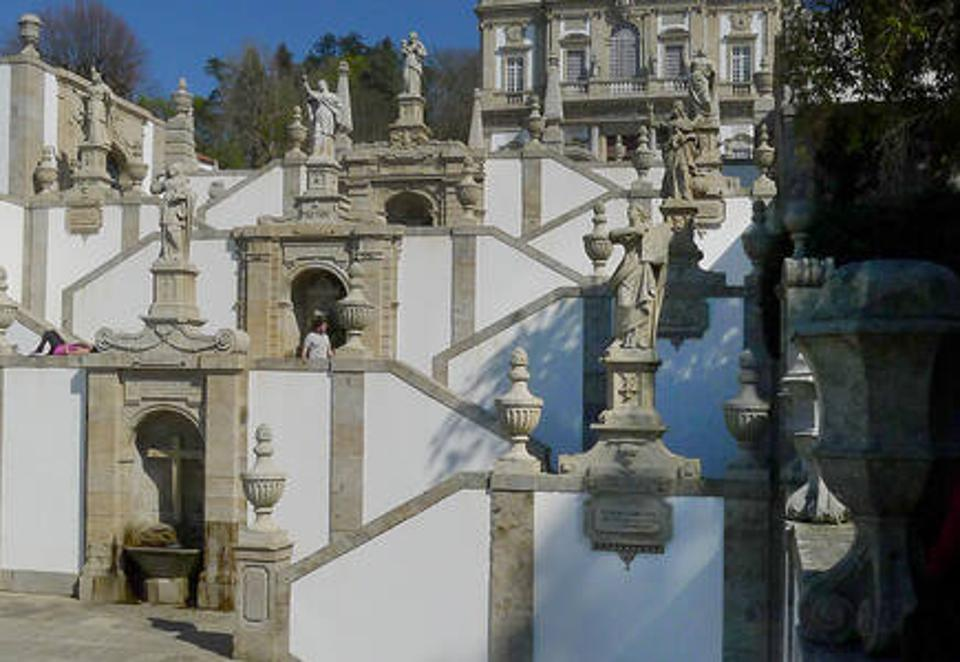Sanctuary of Bom Jesus do Monte in Braga