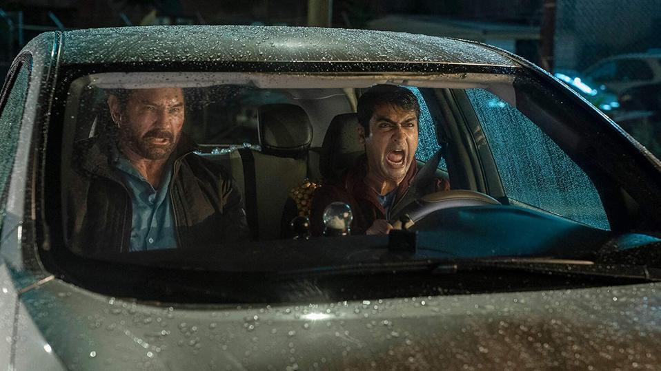 Dave Bautista and Kumail Nanjiani in Stuber (2019)