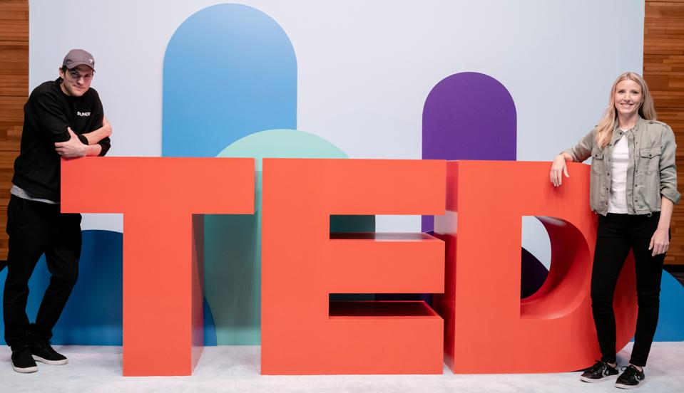 Ashton Kutcher at TED Audacious Project Launch
