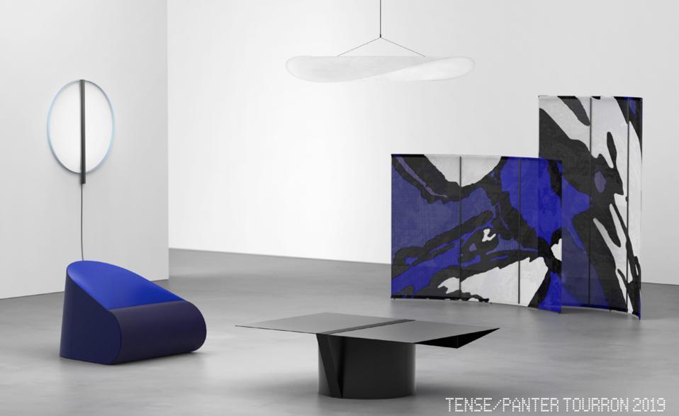 The transportable, tool-free TENSE collection by Panter & Tourron