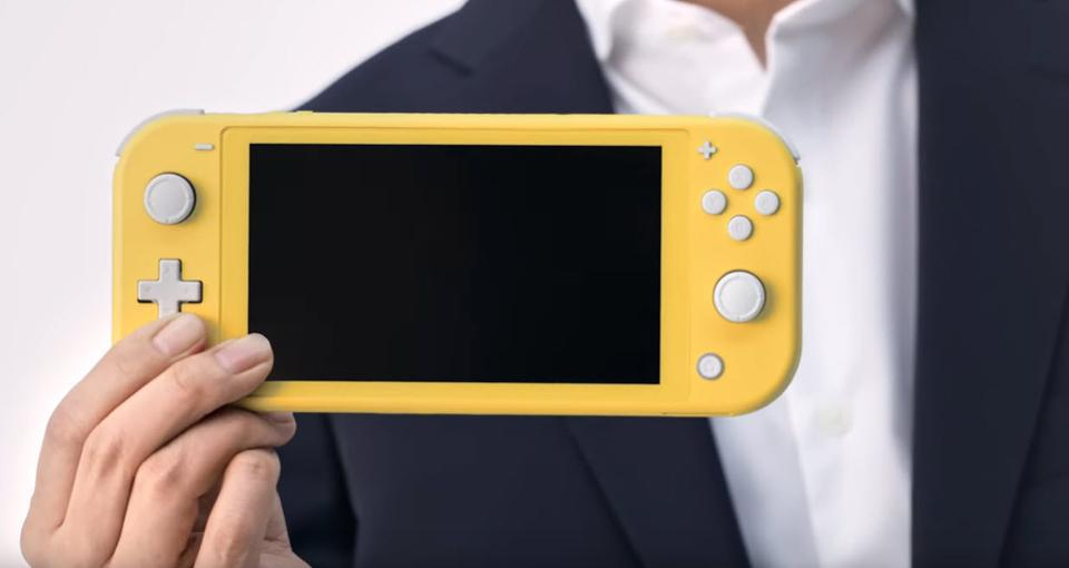 The Nintendo Switch Lite handheld video game console
