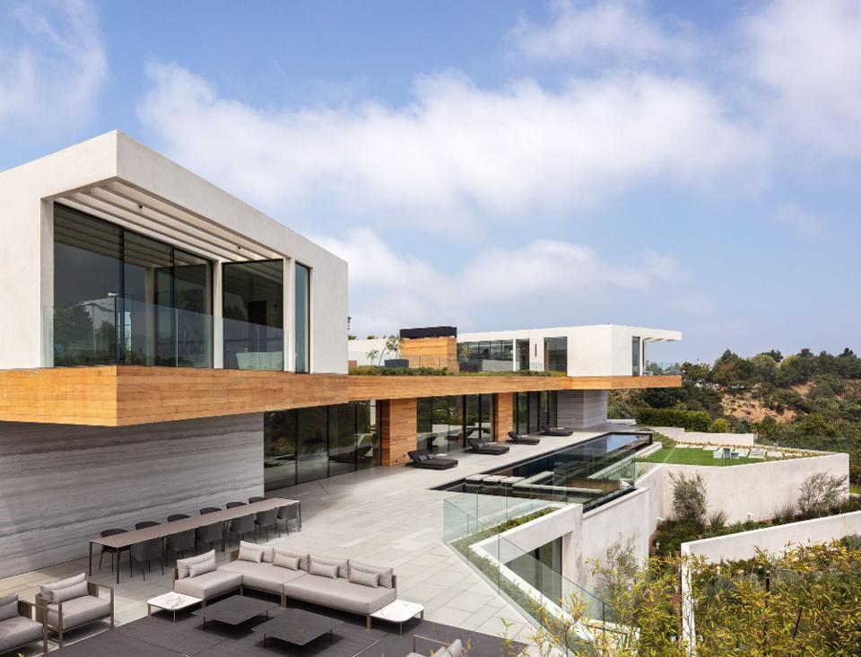The $46 million home sits on one of the largest lots in Trousdale Estates, Beverly Hills