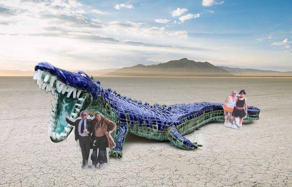 Niloticus Mosaic Crocodile / 2019