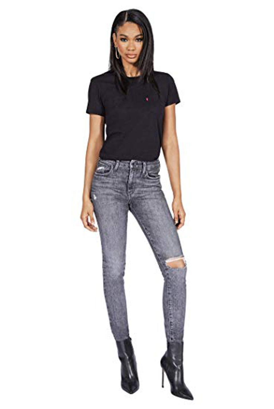 Levi's Women's 721 High-Rise Jeans Customized By Chanel Imam Shepard