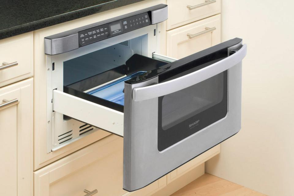 Sharp KB-6524PS 24-Inch Microwave Drawer Oven, Stainless stee