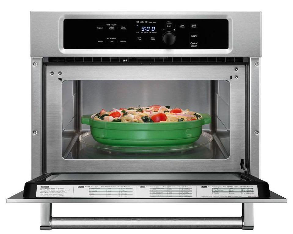KitchenAid KMBS104ESS 1.4 cu. ft. Built-In Microwave in Stainless Steel