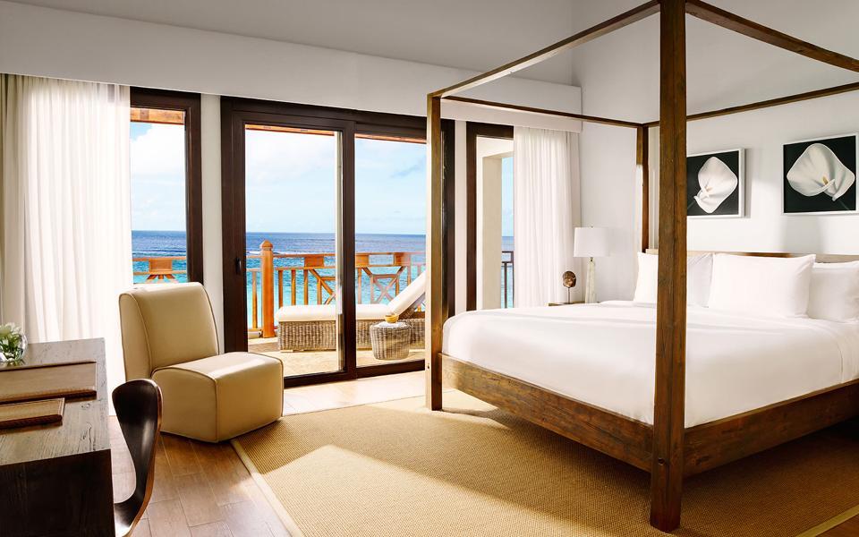 A bedroom at Zemi Beach House