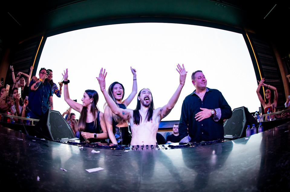 EVERETT, MA - Steve Aoki on June 24th at Encore Boston Harbor