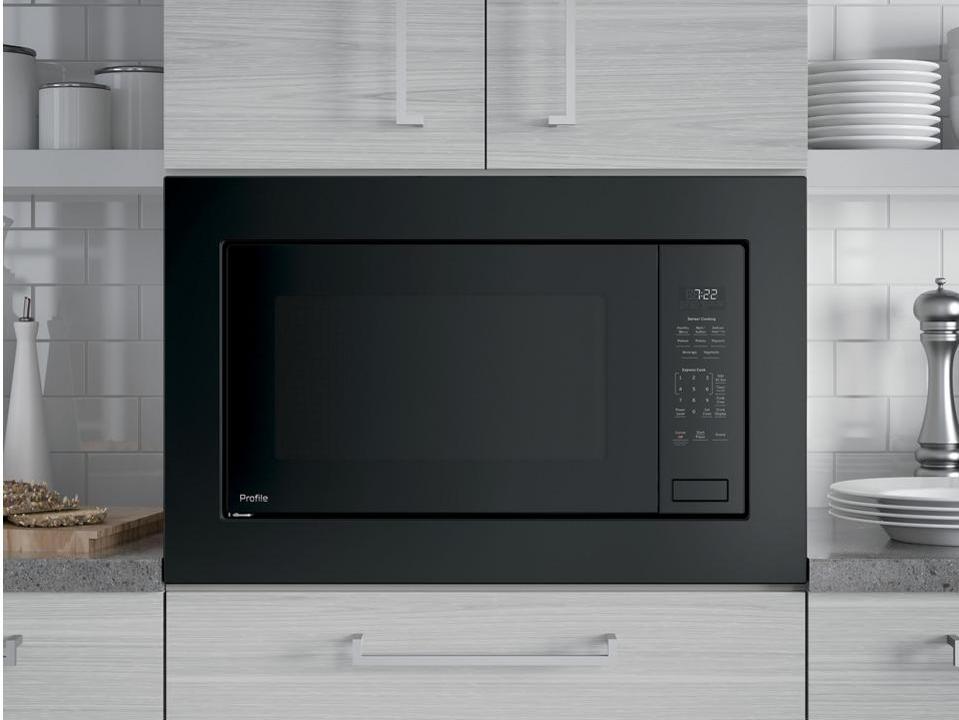 GE PEB7227DLBB 2.2 cu. ft. Countertop Microwave in Black with Sensor Cooking