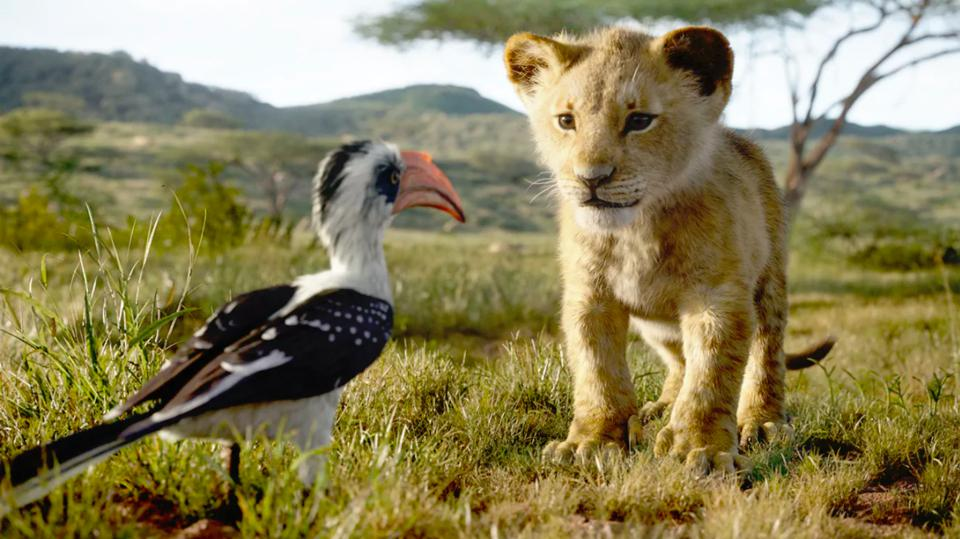 Zazu and Simba in Disney's ″The Lion King″