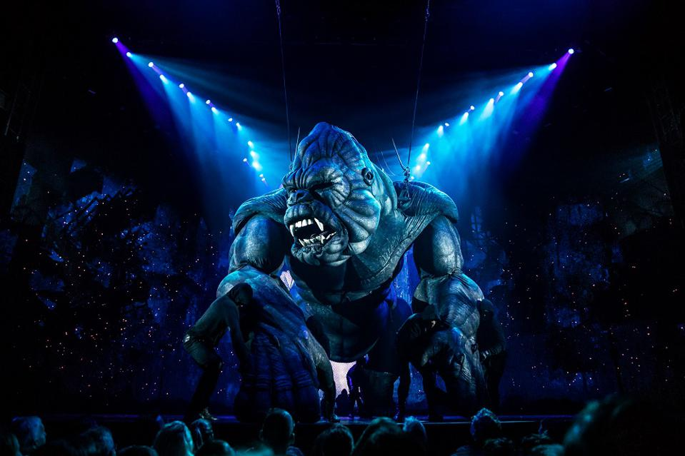 King Kong won a special Tony Award for its design, but failed to attract buyers. (Or critics).