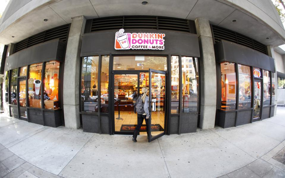 Dunkin Donuts restaurants