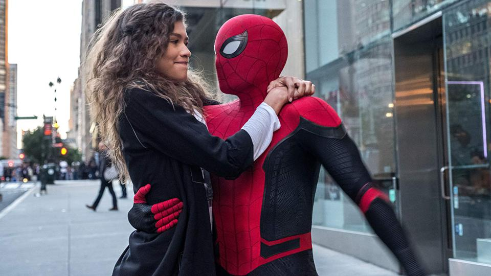 Zendaya and Tom Holland in 'Spider-Man: Far From Home'