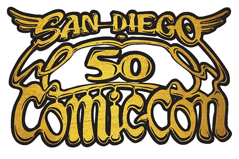 San Diego Comic-Con 50th anniversary logo