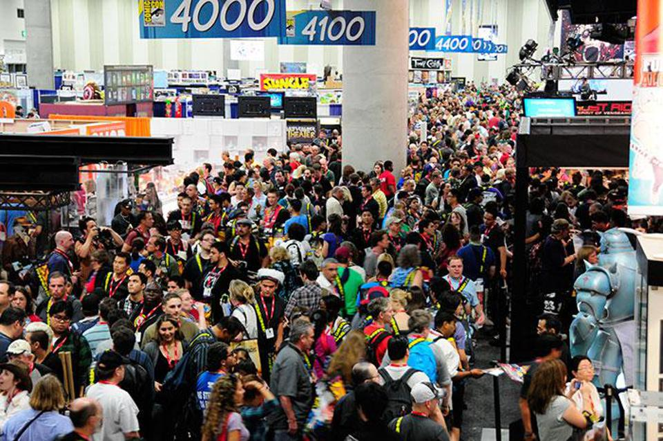 San Diego Comic-Con exhibit hall