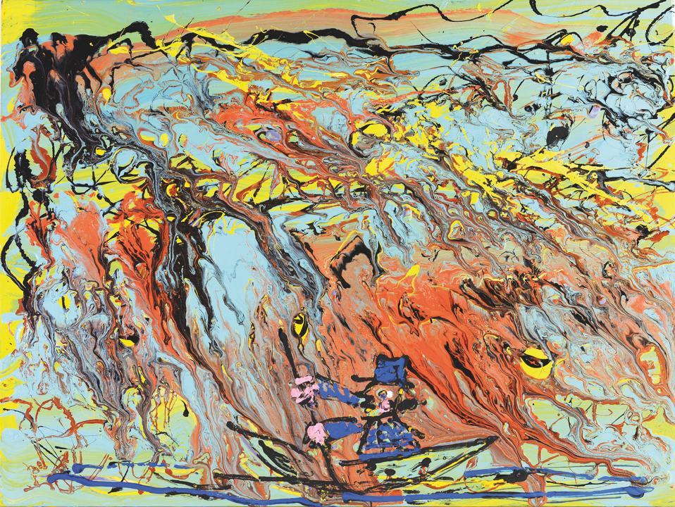 Gianpaolo Berto, L'arrive di Pollock a Venezia, 2014.