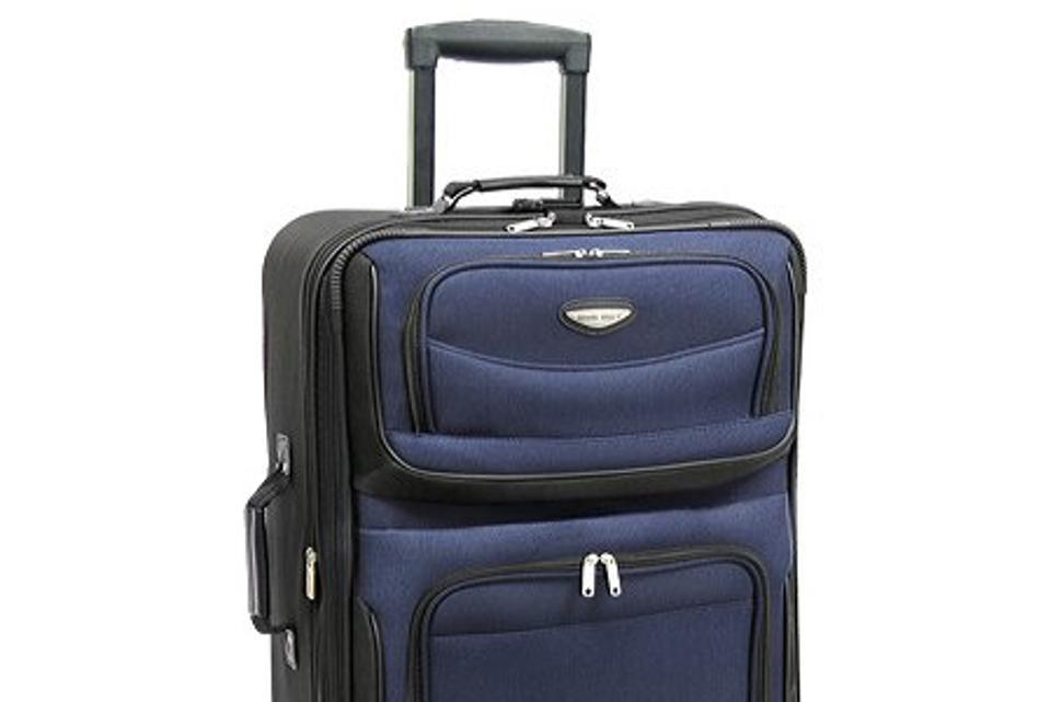 e89e4548290526 Traveler's Choice Amsterdam Expandable Rolling Luggage