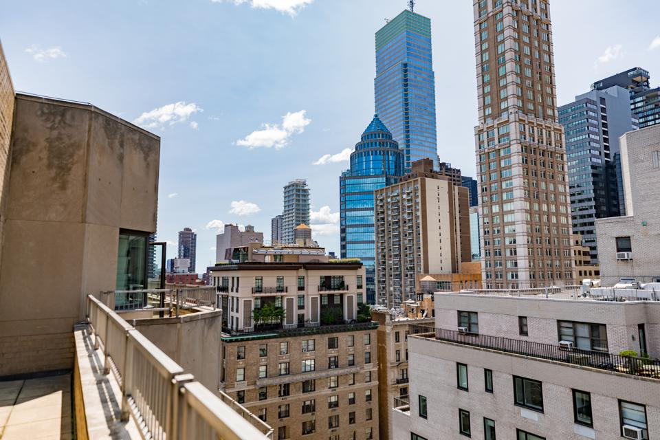 New York - View from a suite at the Loews Regency