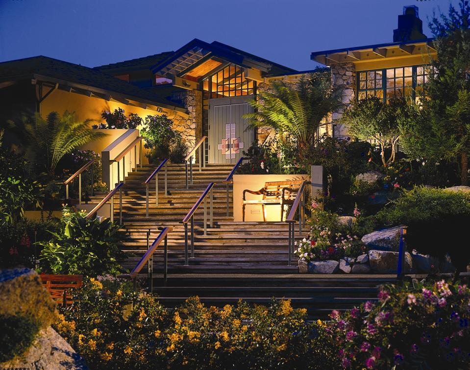 Hyatt Carmel Highlands Front of Hotel