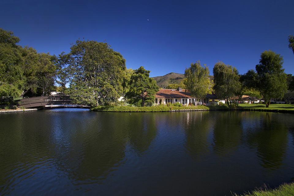 Quail Lodge Grounds Pond Bridge Bungalow