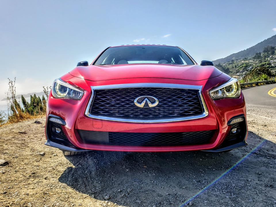 Q50 RS Front