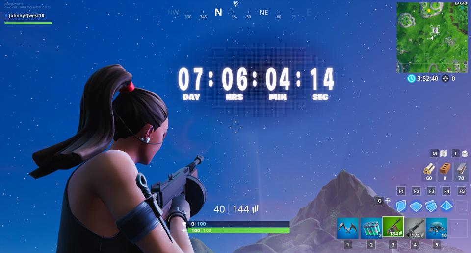 Fortnite' Countdown Appears In-Game, Robot V Monster Fight Now Has A