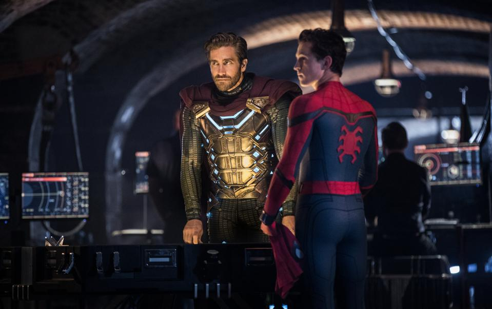 Jake Gyllenhaal and Tom Holland star in ″Spider-Man: Far From Home″