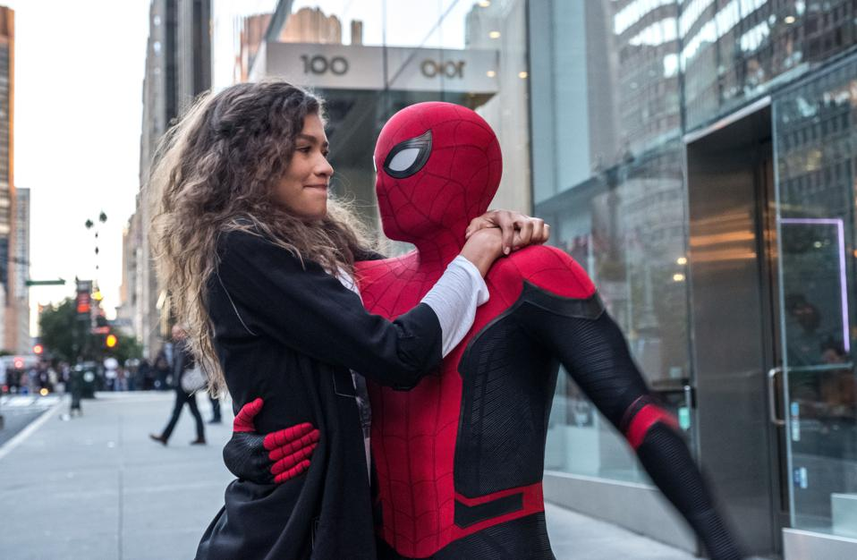 Zendaya and Tom Holland star in ″Spider-Man: Far From Home″