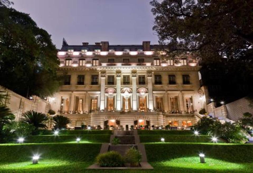 Palacio Duhau hotel in Buenos Aires