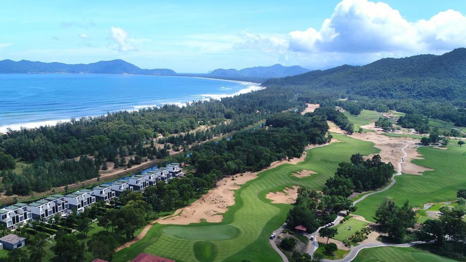 golf course in Vietnam