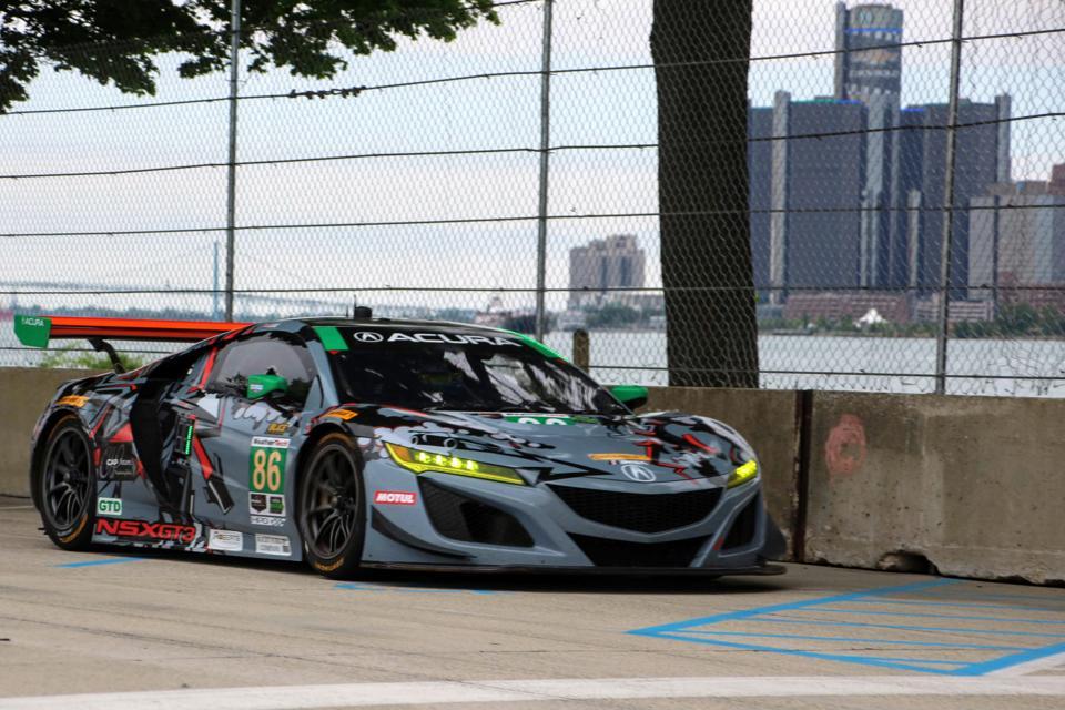 When she isn't driving a Jaguar i-Pace, Katherine Legge races an Acura NSX GT3 in IMSA