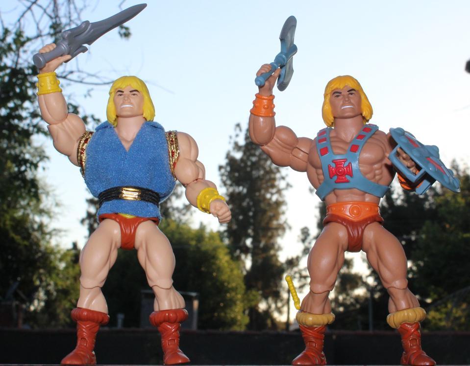 He-man and Prince Adam