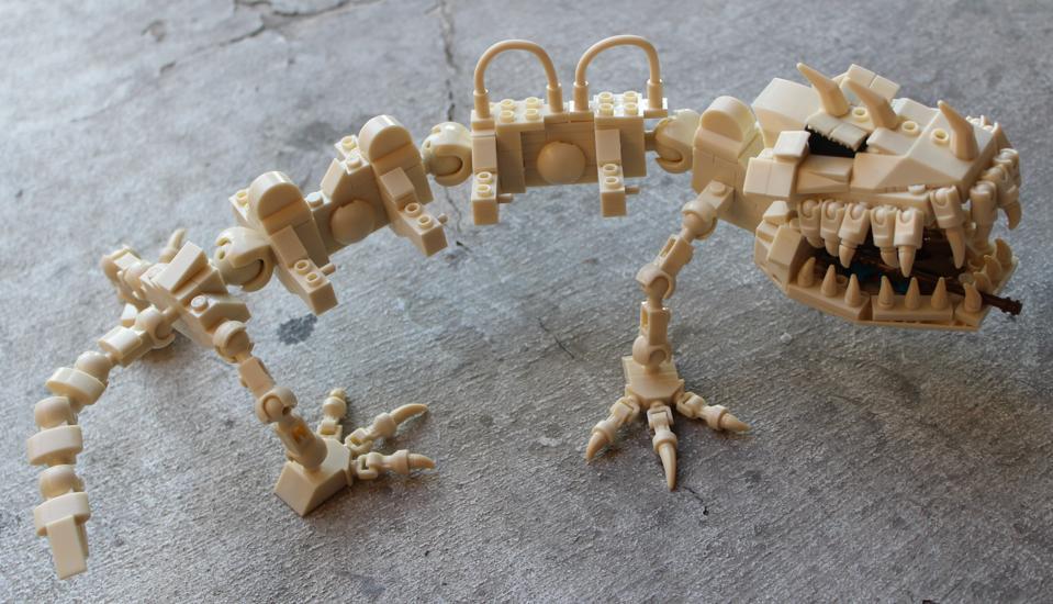 Battle Bones skeleton