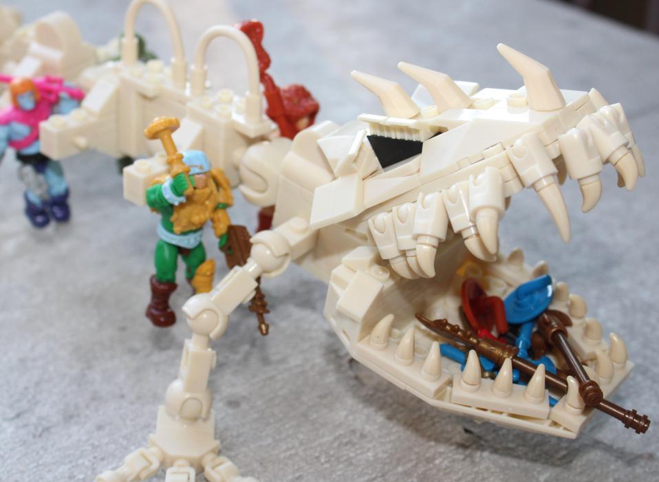 Battle Bones complete set built