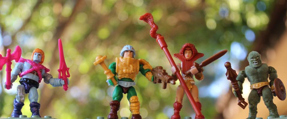 Faker Man-at-Arms Teela Moss Man Mega Construx