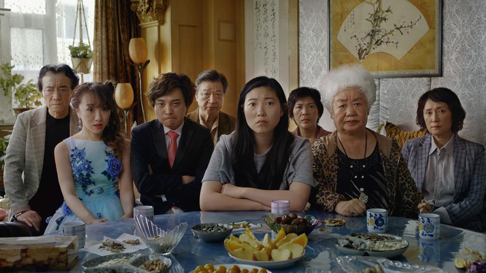 Diana Lin and Awkwafina in 'The Farewell'