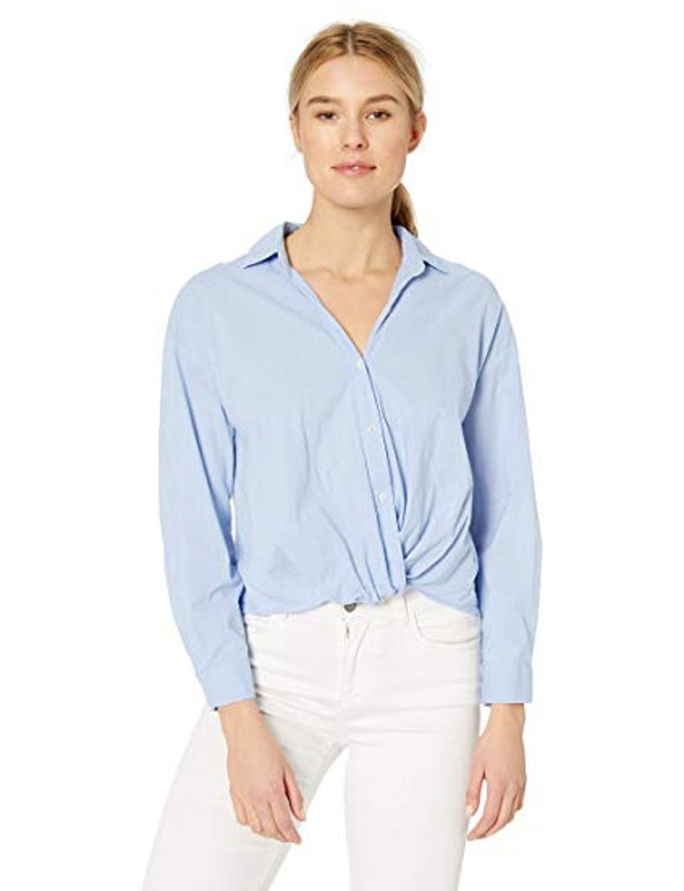 Velvet by Graham & Spencer Women's Astrid Cotton Shirting top