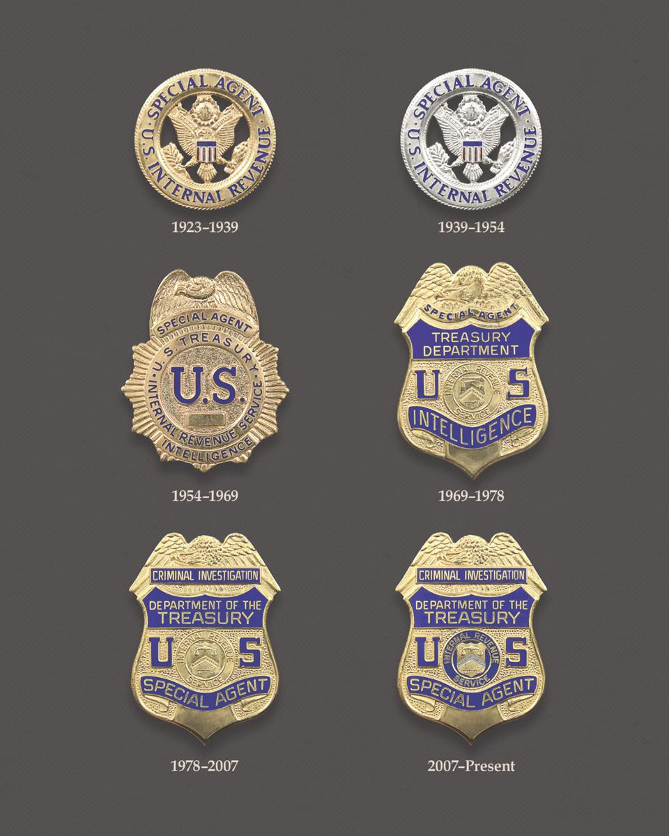 IRS-CI badges