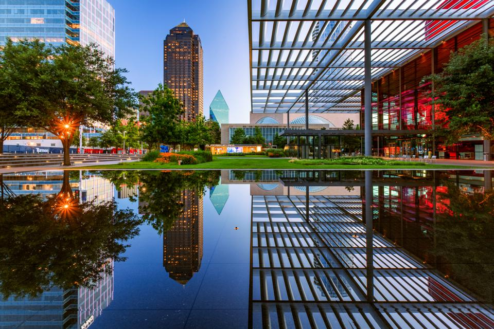 Performing Arts Center, Dallas, Texas, America