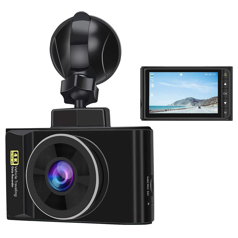 The Awesafe 4K brings high-resolution UHD video to the budget dash cam.