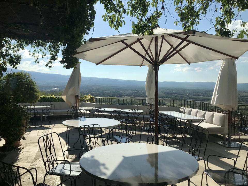 View from La Table du Mont Ventoux
